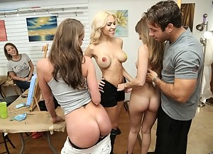 Teen Reverse Gangbang Porn Pictures